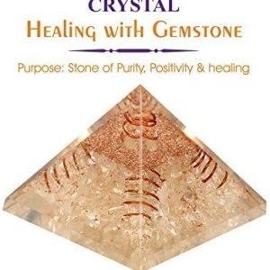01-Pirámide Energía Cristal de cuarzo