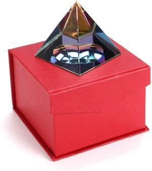 05-Pirámide Energía Cristal iridiscente 6cm