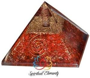 01-Pirámide Jaspe Rojo