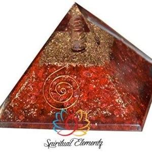 01-Pirámide Energía Jaspe Rojo