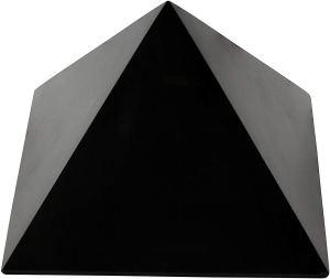 01-Pirámide Shungita pulida 10cm