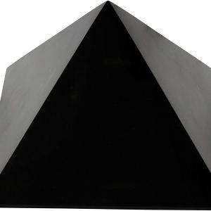 01-Pirámide Energía Shungita pulida 10cm