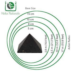 04-Pirámide Energía Shungita sin pulir 10cm