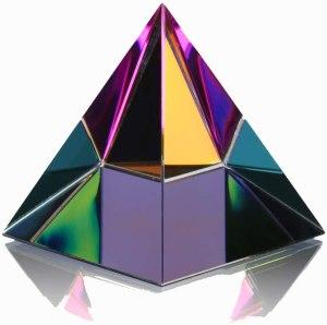 01-Pirámide Vidrio 6cm