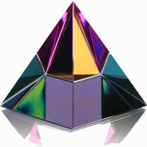 01-Pirámide Energía Vidrio 6cm
