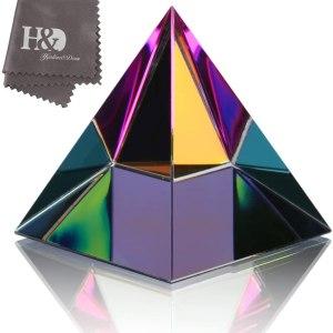 01-Pirámide Energía Vidrio 8cm