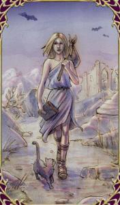 Sensual Wicca Tarot  El Loco