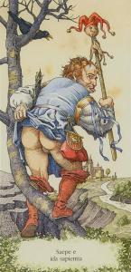Tarot of Dürer  El Loco