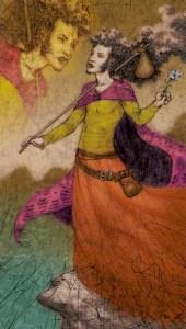 Tarot of Reflections  El Loco
