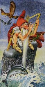 Tarot of the Druids  El Loco