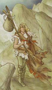 Tarot of the Holy Grail  El Loco
