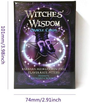 07-Witches Wisdom Oracle Cards