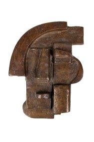 """Máscara"" s.f. : bronce 26 x 19.5 x 5 cm"
