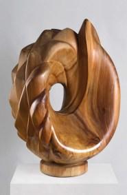 Corazón de agave | 2008 Talla sobre madera de sabino 80 x 60 x 60 cm