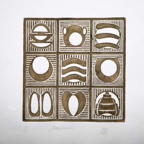 Disección 1 de escarabajo | 1999 Grabado 76 x 76 x 4 cm