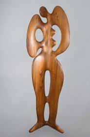 Eva | 1995 Talla sobre madera de sabino 224 x 67 x 42 cm