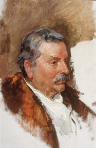 José Ramón Garnelo Gonzálvez, padre del pintor