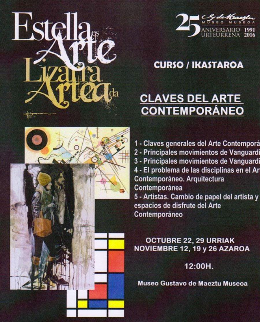 """Curso """"Claves del Arte Contemporáneo"""". Fermín Alvira. Museo Gustavo de Meztu"""