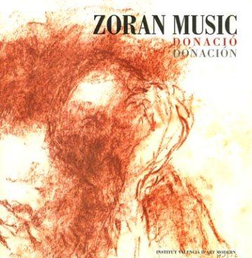 Zoran Music. Donación. Catálogos museo Gustavo de Maeztu