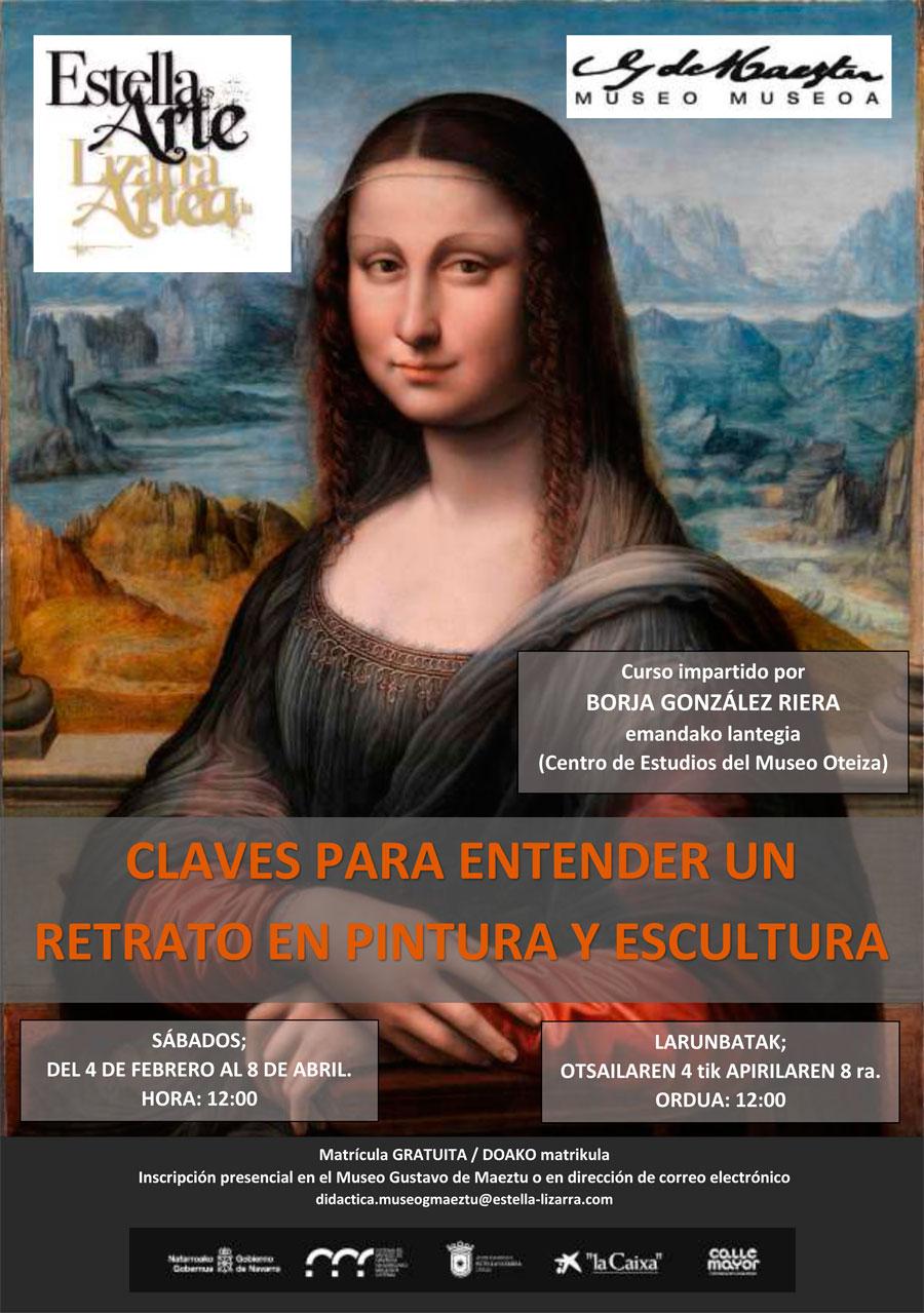 """Taller """"Claves para entender un retrato en pintura y escultura"""". Museo Gustavo de Maeztu"""