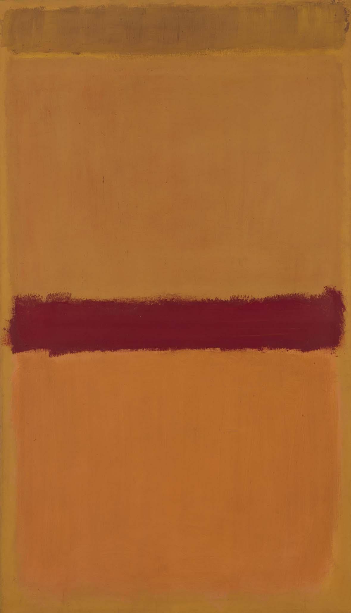 Mark Rothko  Untitled Orange Plum Yellow Sin ttulo