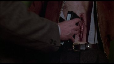 David Cronenberg. Videodrome. Película, 1983. Cortesía de Video Profilmar