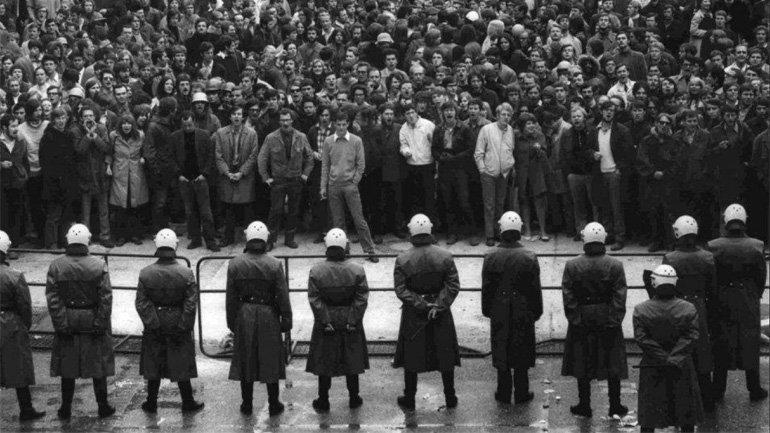 Protestas en la calle, 1968