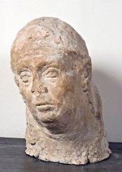 Luigi Varoli Ritratto della moglie Anna, senza data, terracotta, alt cm 40