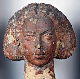 Luigi Varoli - Ritratto di Giovanna Medri, 1931-32, terracotta patinata, alt cm 46