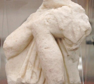 Frammento marmoreo I sec, cm 19x15
