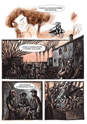 """Marina Girardi e Rocco Lombardi, Tavola per """"L'Argine"""""""