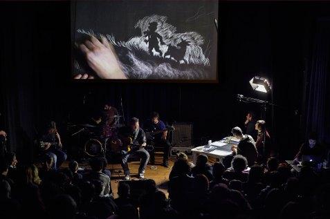 Performance dei Ronin e con Marina Girardi e Rocco Lombardi al Teatro Binario