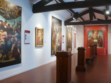 Franco Pozzi – Selvatico TRE – Il buco dentro agli occhi o il punto dietro la testa – Bagnacavallo Museo Civico delle Cappuccine