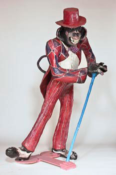 La scimmia ballerina, 2009, La diaspora degli abitanti dell'arti e mestieri