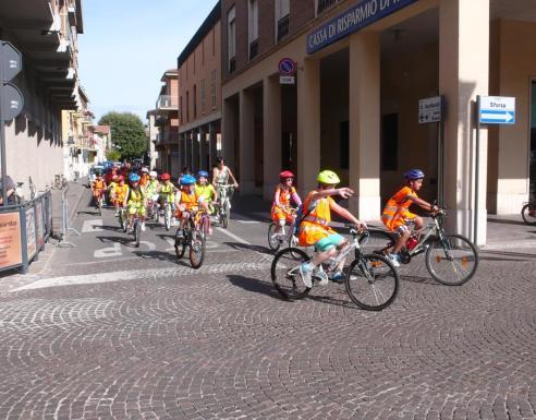 L'arrivo in bici alla conquista di cotignyork