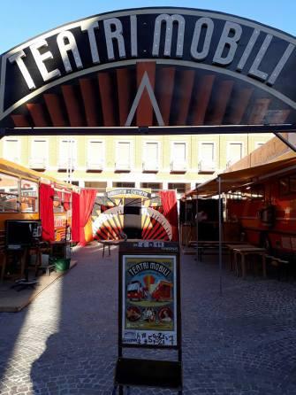 TEATRIMOBILI / Girovago & Rondella - Compagnia Dromosofista / 6-11 giugno / Piazza Vittorio Emanuele II