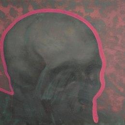 n.7 Giovanni Blanco Come il pane, le ossa, 2018-2019, olio su tela applicata su tavola, cm 30x35