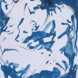 n.13 Giulio Catelli Luca con il cagnolino 2020, tempera su carta 29,5 x 21 cm