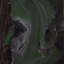 n.124 Rudy Cremonini Il verde non è possibile, 2013, olio su tela, cm 30x20