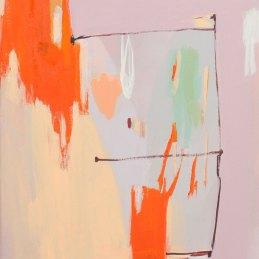 n.31 Simone Luschi Senza titolo, 2018, tecnica mista su tela,30x40 cm
