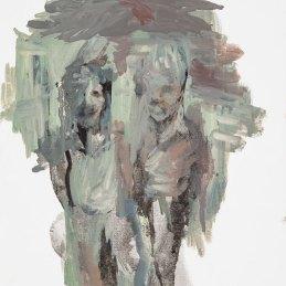 n.137 Julie Rebecca Poulain, L'album, 2013, olio su carta, 24x32 cm