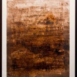 n.140 Nadia Trotta, Senza titolo, 1998, tecnica mista su carta, 75x56cm