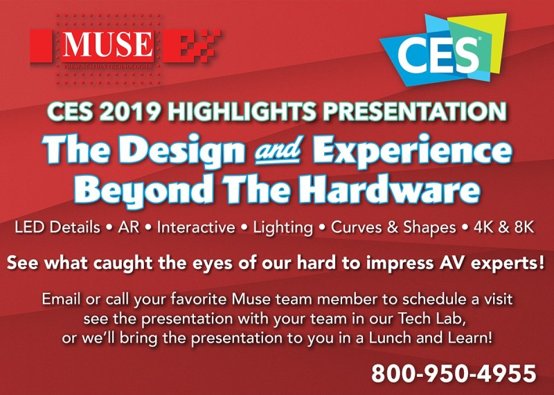 CES Highlights The Tech Behind the Experience Presentation