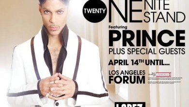 Photo of Prince Begins 21 Nights Of Shows In LA At The Forum