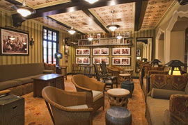 Photo of Inside Peak Of the Soon To Be Opened 1901 Club At California Adventure