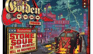 """Photo of STONE SOUR TO HEADLINE FIRST-EVER  REVOLVER """"ROAD TO THE GOLDEN GODS"""" TOUR"""