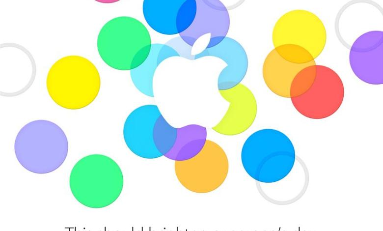 Apple iPhone 5S and 5C Press Event