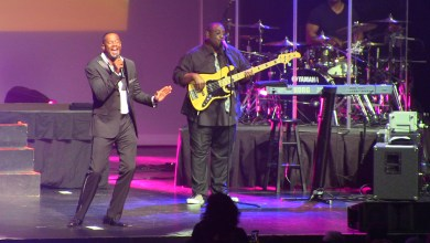 Photo of Brian McKnight Serenades Los Angeles Audience At Nokia Performance