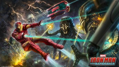 Photo of Disney To Open First Marvel Attraction Iron Man Experience in 2016