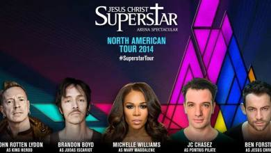 Photo of STARS ALIGN FOR BIGGEST NORTH AMERICAN ARENA TOUR OF JESUS CHRIST SUPERSTAR